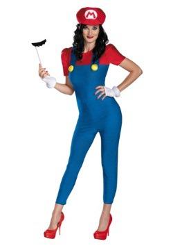 Women's Deluxe Mario Costume