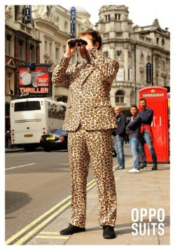 Men's OppoSuits Jaguar Animal Printed Suit