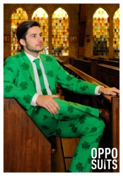 Mens OppoSuits Green St Patricks Day Suit 3