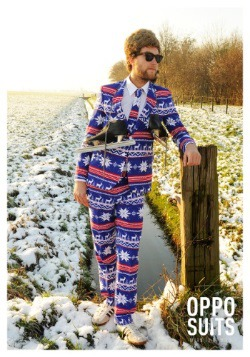 Mens Christmas Sweater Suit2