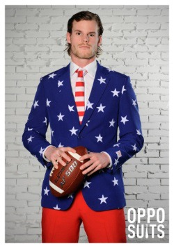 Men's OppoSuits Stars and Stripes Suit2