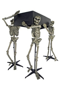 Skeleton Pall Bearers Halloween Decoration
