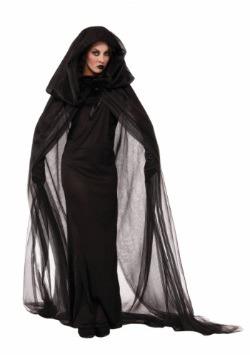 Dark Women's Sorceress Costume Dress