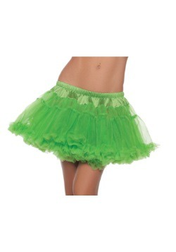"12"" Green Two-Layer Petticoat"