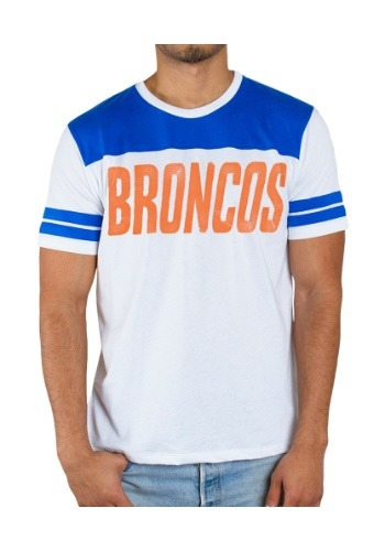 NFL Denver Broncos Sideline Stripe Men's T-Shirt