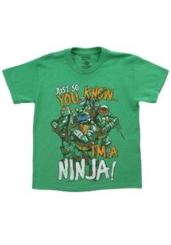 TMNT I'm a Ninja T-Shirt