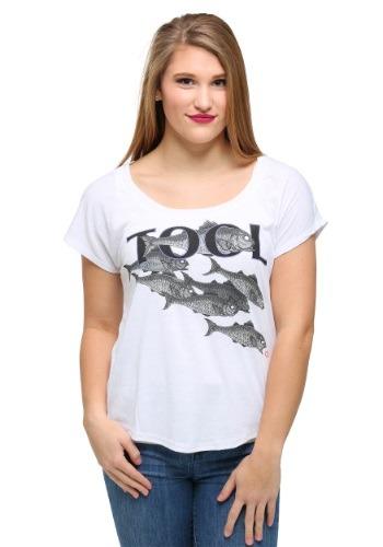 Tool Fish Dolman Juniors T-Shirt