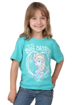 Frozen Elsa I'm the Big Sister T-Shirt