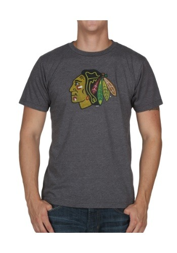 NHL Big Time Play Heathered Chicago Blackhawks Men's Shirt