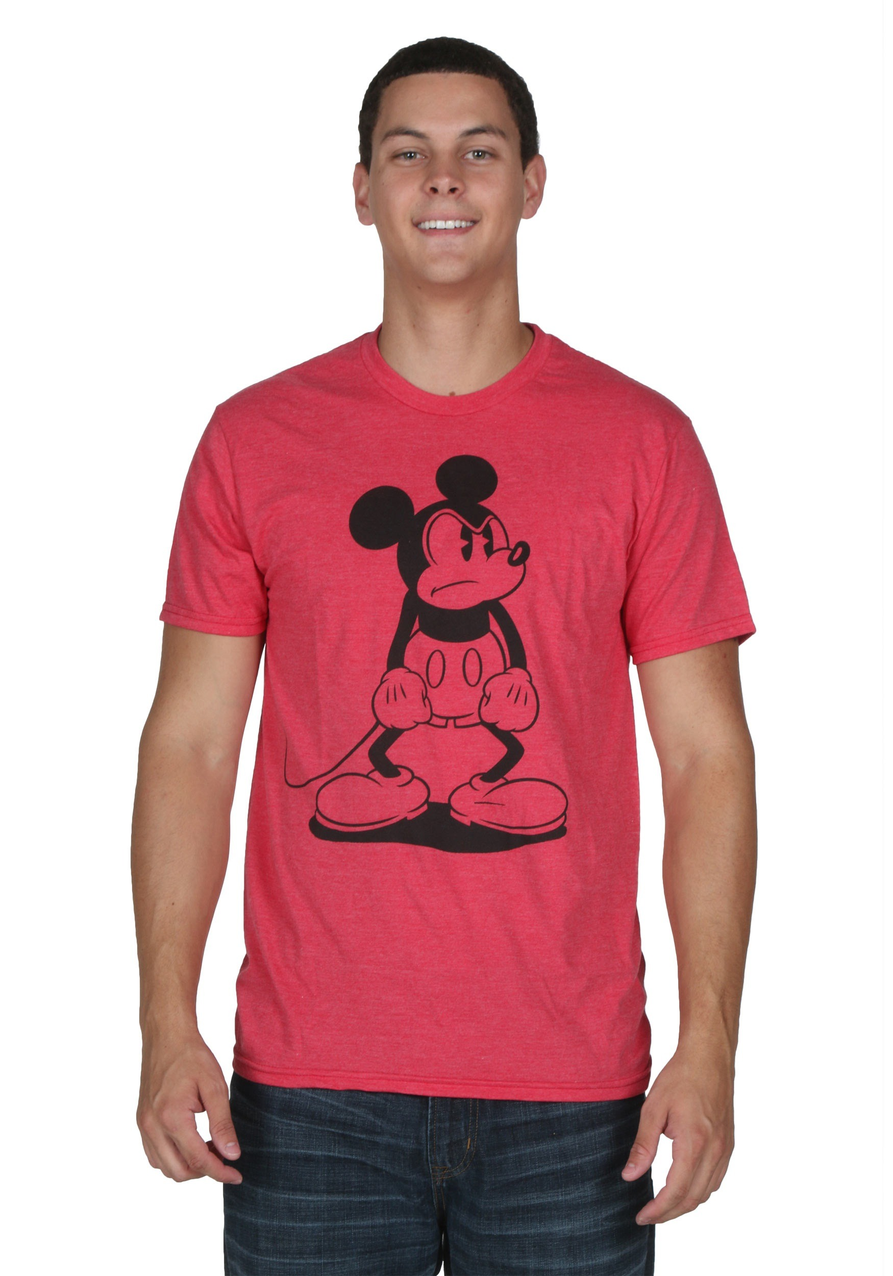 75252f2ae6b Men's Mickey Mouse Standing Mad T-Shirt