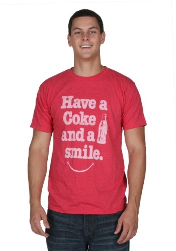 Coke And A Smile Men's T-Shirt1