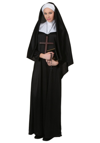 Traditional Nun Plus Size Costume