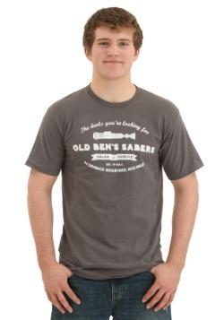 Star Wars Old Ben's Sabers Men's T-Shirt