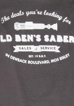 Star Wars Old Ben's Sabers Men's T-Shirt2