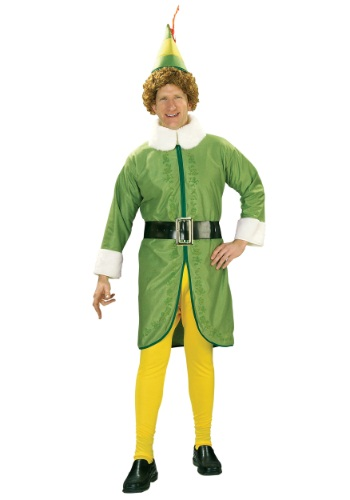Adult Plus Size Buddy the Elf Costume