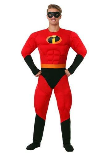 Deluxe Mr. Incredible Plus Size Muscle Costume
