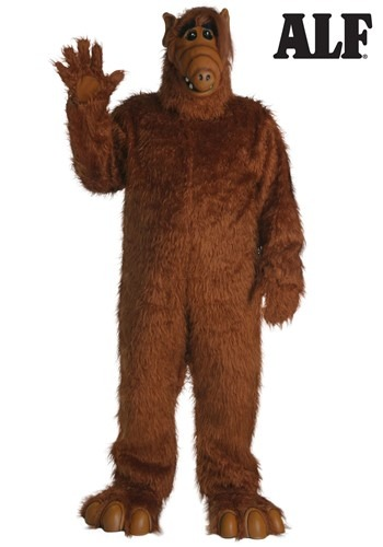 Plus Size Alf Costume