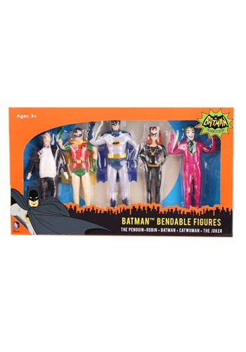 Batman Bendable Figures Boxed Set
