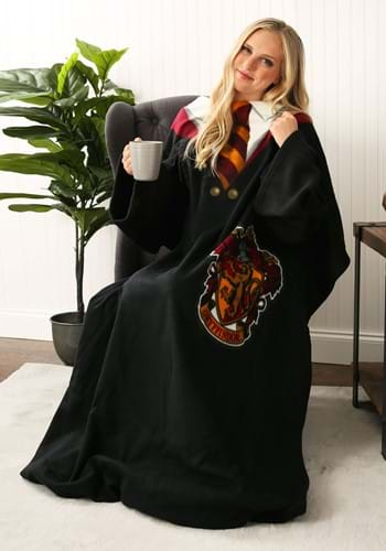 Harry Potter Adult Comfy Throw Gryffindor Robe Blanket