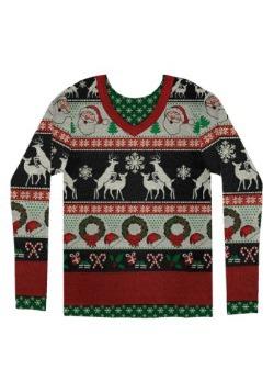 Adult Ugly Frisky Deer Sweater3