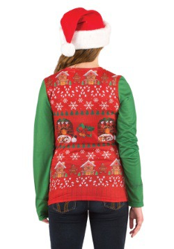 Women's Ugly Christmas Sweater Vest2