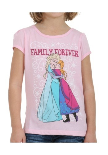 Frozen Family Forever Girls Shirt