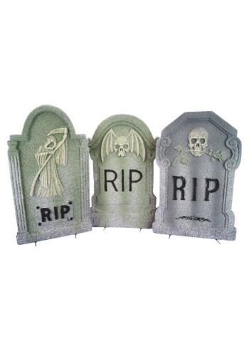 22 Inch Foam Tombstone Halloween Decor
