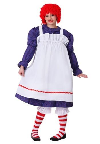 Classic Rag Doll Costume Plus Size