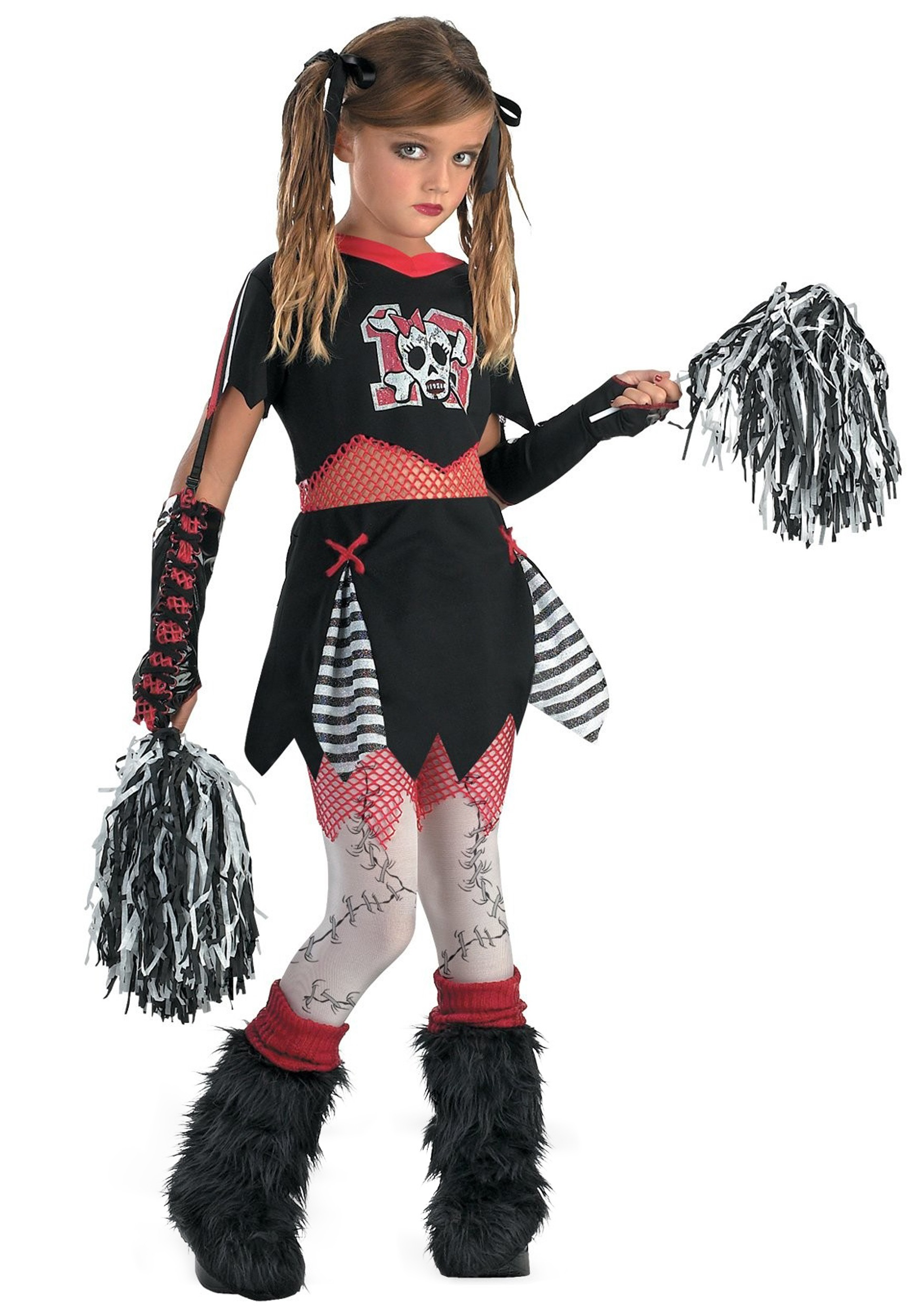 gothic cheerleader costume for girls