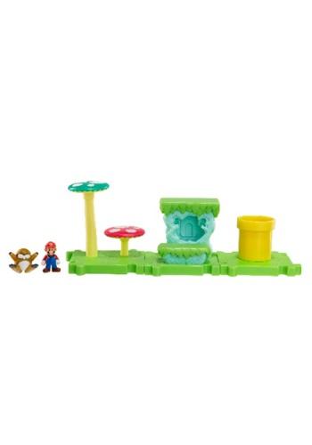 Mario Bros Acorn Plains Land with Mario Set