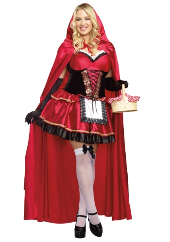 Little Red Plus Size Women's Costume
