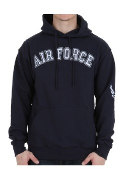 Air Force Embroidered Hoodie