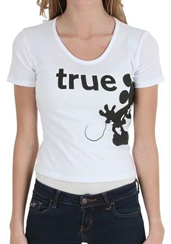 True Love Mickey & Minnie Juniors T-Shirt