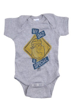 Family Guy My Dad Is Special Infant Onesie