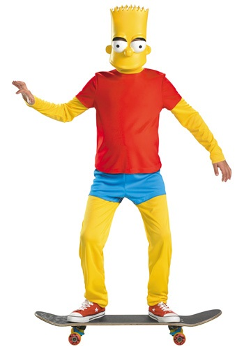 Kids' Elite Bart Simpson Costume