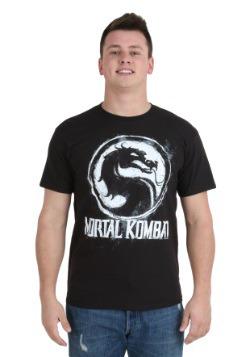 Mortal Kombat Chalk Logo T-Shirt