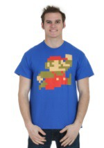 Big Little Mario Men's T-Shirt