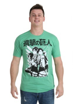 Attack On Titan Scout Group T-Shirt
