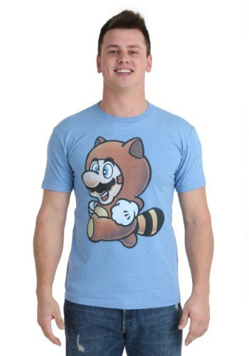Mario Tanooki Men's T-Shirt