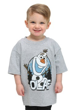 Boys Toddler Frozen Olaf Heather Grey T-Shirt