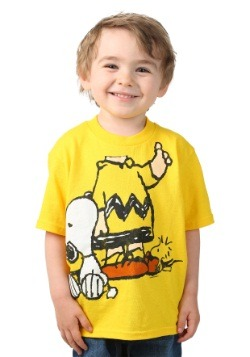 Toddler Peanuts I Am Charlie Brown with Snoopy Boys T-Shirt