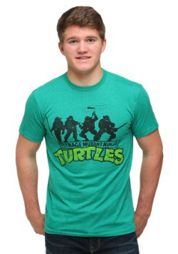 TMNT Ninja Turtles Green T-Shirt