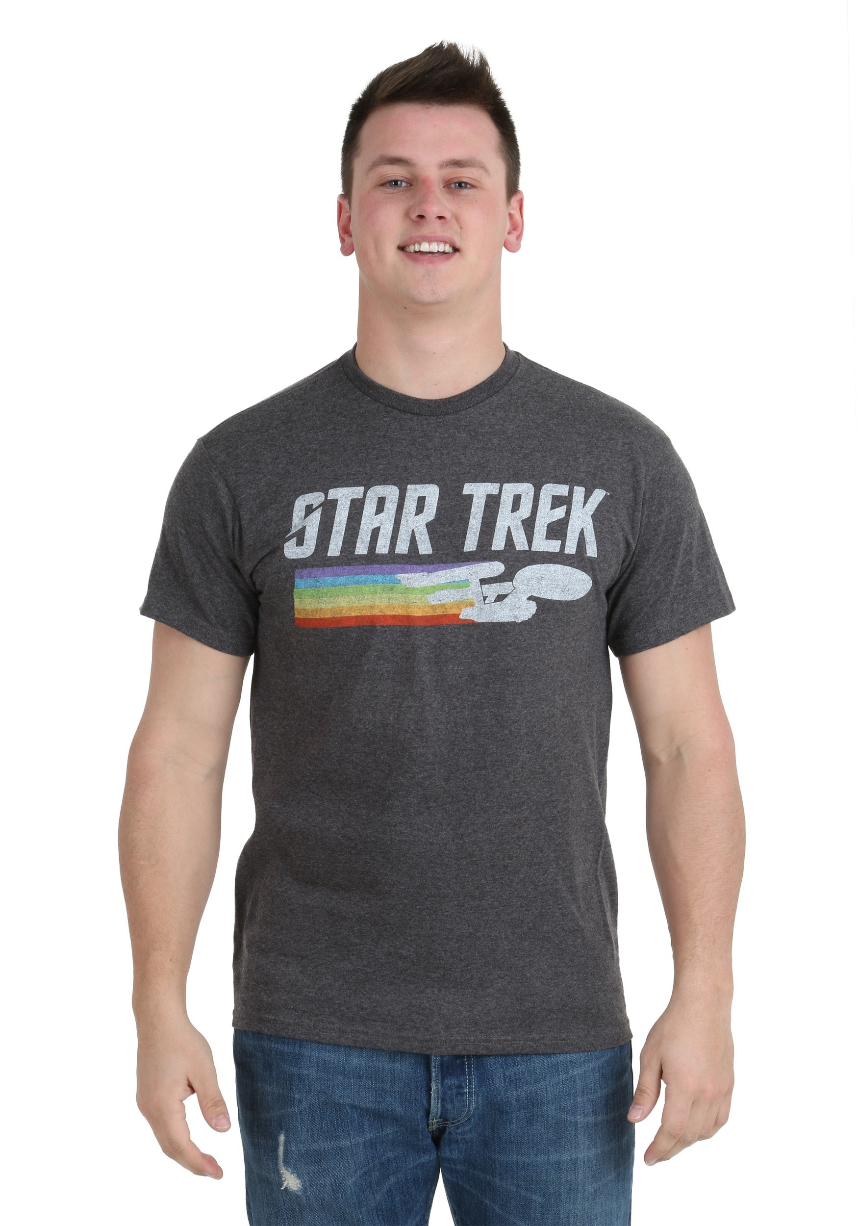 48c252e74d Star Trek Enterprise Rainbow Trail T-Shirt