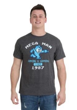 Mega Man Running & Gunning T-Shirt