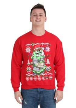 Oscar The Grouch Ugly Christmas Sweatshirt