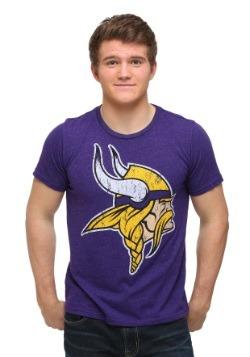 Men's Minnesota Vikings Triblend Crew T-Shirt