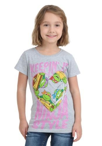 TMNT Keepin' It Ninja Style Girls T-Shirt