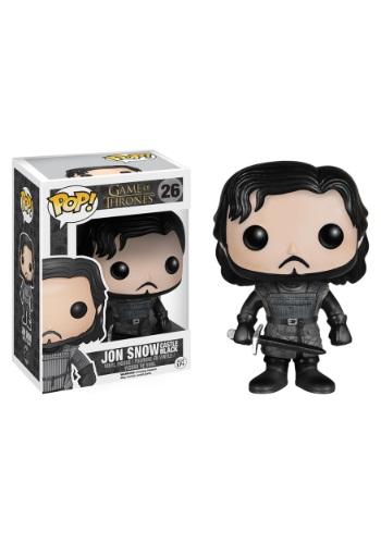 POP Game of Thrones Jon Snow Castle Black Vinyl Figure