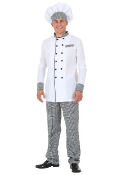 Men's White Chef Jacket Costume