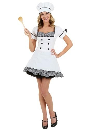 Sexy Chef Womens Costume